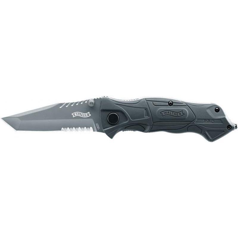 Walther Pro Black Tac Tanto Knife, nôž, 5.2015