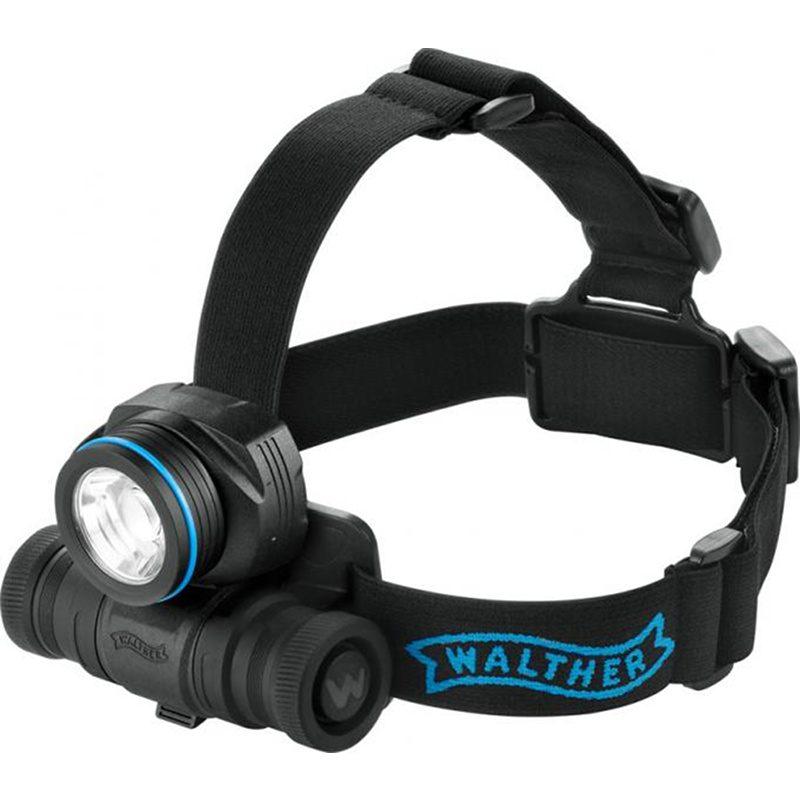 Walther Pro HL17, 3.7091, baterka, čelovka