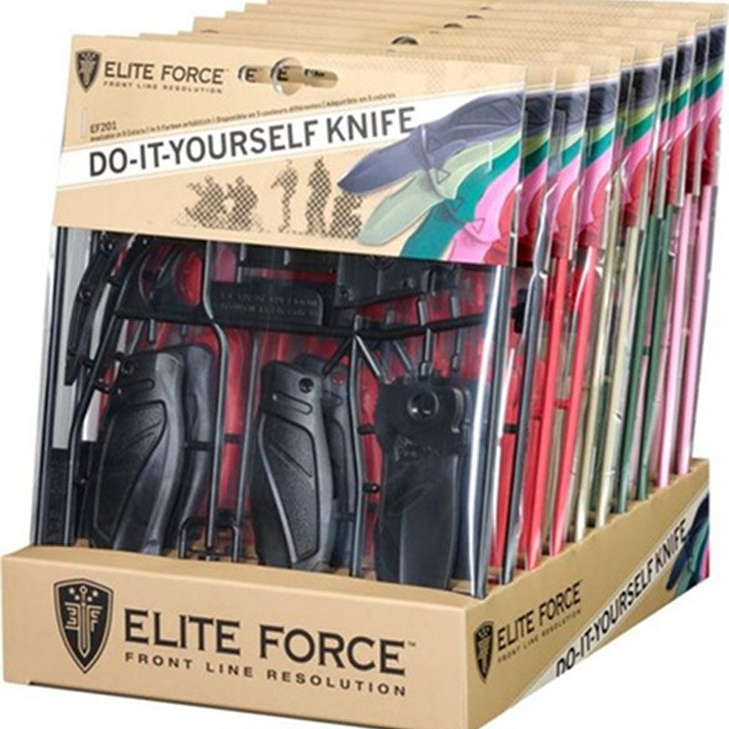 Elite Force EF201 Selfmade Kit, nôž, 5.0770-1